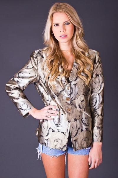 telltale hearts vintage blazer