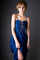 Blue-telltale-hearts-vintage-dress