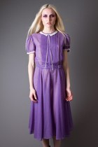 Light-purple-sheer-micro-dot-telltale-hearts-vintage-dress