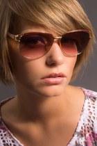 pink yves st laurent sunglasses