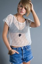 White-mesh-cropped-telltale-hearts-vintage-top