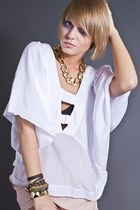 white Seneca Rising blouse