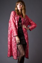 Hot-pink-telltale-hearts-vintage-coat