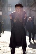 Derinro dress - Derinro coat - Jeffrey Campbell wedges