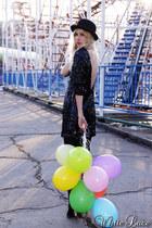 Andra Andreescu dress - asos hat - asos heels