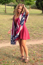 Ruby-red-topshop-dress-navy-pull-bear-scarf