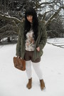 Olive-green-new-yorker-jacket-white-thrifted-shirt-white-new-yorker-tights