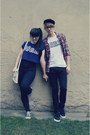 Black-tally-weijl-jeans-white-satchel-oodji-bag
