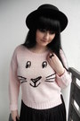 Black-h-m-hat-light-pink-new-look-sweater-black-lindex-tights