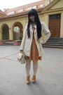 Bronze-orsay-dress-off-white-orsay-tights-beige-i-am-bag