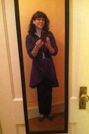 purple madeinitaly sweater