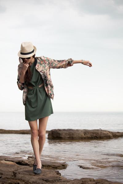 Sheinside jacket - inlovewithfashion dress