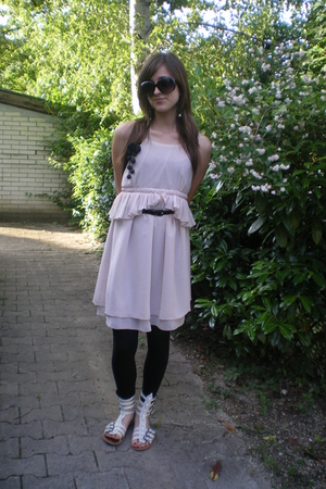 Zara dress - pull&amp;bear shoes