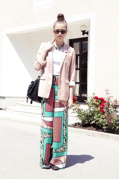 Zara pants - H&M blazer