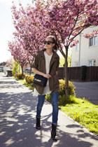 necessary clothing jacket - ps11 PROENZA SCHOULER bag - pleated Zara top