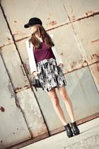 H&M skirt - Zara blazer