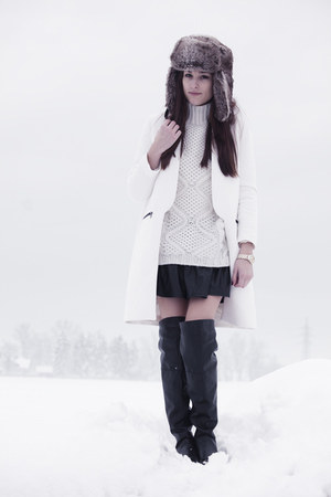Zara coat - LavishAlice skirt