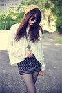Leather-boots-knitted-sweater-round-sunglasses-lashesoflondon-skirt
