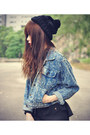 Studded-jacket-creepers-shoes-studded-choies-leggings-beanie-accessories