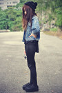 Creepers-shoes-studded-jacket-studded-choies-leggings-beanie-accessories