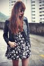 Choies-boots-abaday-dress-leather-sheinside-jacket-topshop-socks