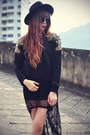 Chicwish-boots-oasap-hat-chicwish-sweater-topshop-socks-round-sunglasses