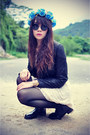 Leather-jacket-motel-rocks-jacket-efoxcity-dress-round-sunglasses