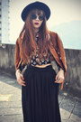 Creepers-shoes-oasap-hat-pu-jacket-choies-jacket-sunglasses-h-m-top