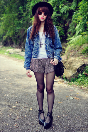 denim studs jacket