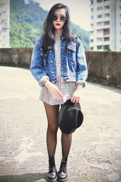 Dr Martens boots - younghungryfree shirt