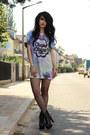 Primark-shirt-fishnet-forever-21-tights-lita-spike-jeffrey-campbell-heels