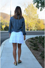 Old-navy-shirt-ardene-skirt