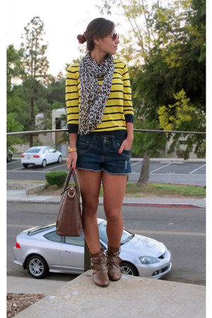 Old Navy sweater - Forever 21 shorts