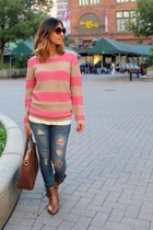 Forever 21 sweater - Ardene jeans