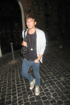 H&M shirt - H&M purse - Cheap Monday jeans - Converse shoes