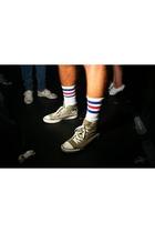 America Apparel socks - Converse shoes