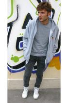 H&M shirt - Walt Disney sweater - Cheap Monday jeans - nike shoes