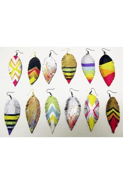 black Beatniq Designs earrings