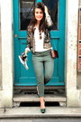 Sequin-gold-sandro-jacket-the-kooples-shirt-see-through-reiss-bag