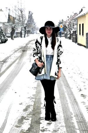light blue StyleMoi skirt