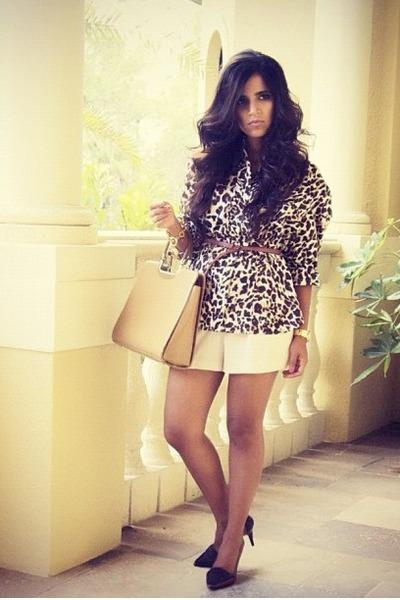 dark brown plaid-loafers Johnson & Murphy pumps - tan tote Gucci bag