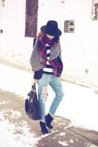 Mango jeans - Zara scarf - Givenchy bag