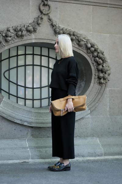 Zara shoes - Zara sweater - 31 Phillip Lim bag - Zara skirt - Tous necklace