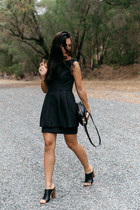 black keepsake dress - black rodriguez Dylan Kain bag
