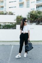 black mira Minskat Copenhagen bag - black oversized zeroUV sunglasses