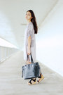 Silver-yoko-lounge-apparel-dress-black-niclaire-bag-black-tatum-urge-sandals