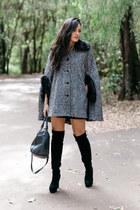 gray mila Review cape - black otk lightinthebox boots