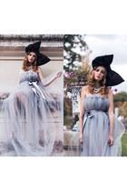 periwinkle tulle DIY dress