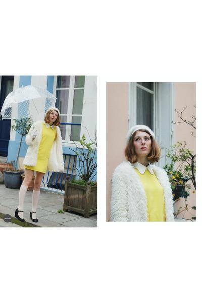 yellow collar sammydress dress