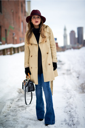 tan trench coat H&M jacket